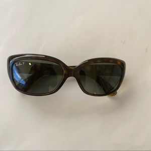 Ray-Ban Women's Gradient Jackie Ohh RB4101-710-3N